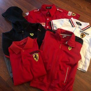 Ferrari Boys Gear - Awesome Package Deal!